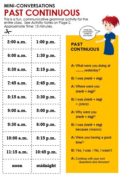 worksheet : past continuous all things grammar : Simple Past Vs Past ...