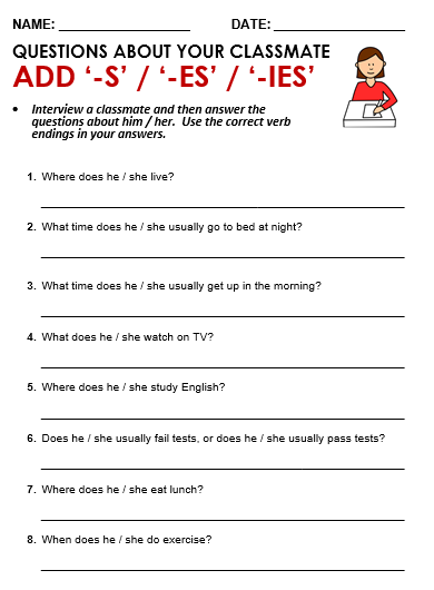 kindergarten worksheets plural nouns add an s or es kindergarten best free printable worksheets. Black Bedroom Furniture Sets. Home Design Ideas
