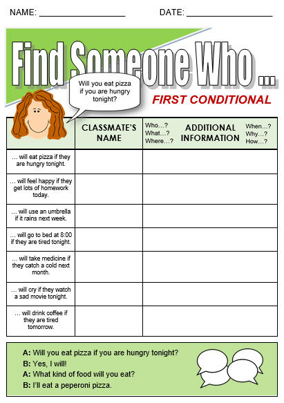 First Conditional - All Things Grammar
